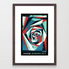 Mahler - Symphony No. 5 Framed Art Print