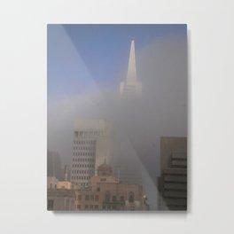 Foggy San Francisco Metal Print