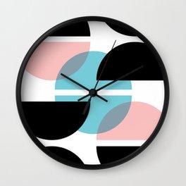 Audrey Geometric #1 Wall Clock