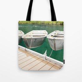 At the Dock Tote Bag
