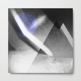 MOONLIGHT_B&W Metal Print