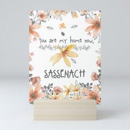 YOU ARE MY HOME Mini Art Print