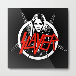Vampire Slayer Metal Print