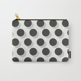 Kitschy Halftone Polka Dots Carry-All Pouch