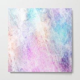 Violet Abstract Metal Print