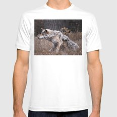 Werewolf MEDIUM White Mens Fitted Tee