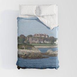 Newport Cliff Walk - Newport Rhode Island by Jeanpaul Ferro Duvet Cover
