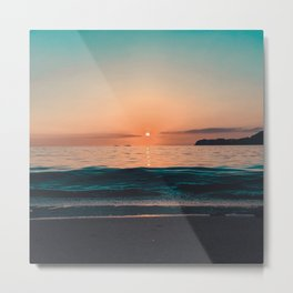 Summer Is My Lover I Wait Every Year Metal Print