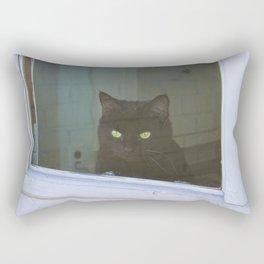 Window to the Wild Rectangular Pillow
