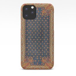 Antique English Axminster Carpet Print iPhone Case