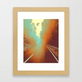 Yosemite , California Travel Poster Framed Art Print