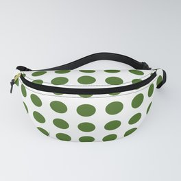 Simply Polka Dots in Jungle Green Fanny Pack