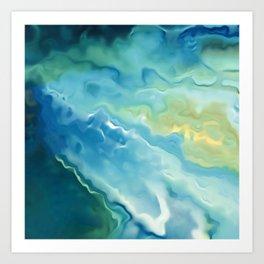 Surfing Summer Art Print
