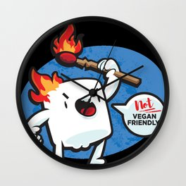 Marshmallow Revolt Wall Clock
