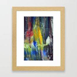 hv Framed Art Print