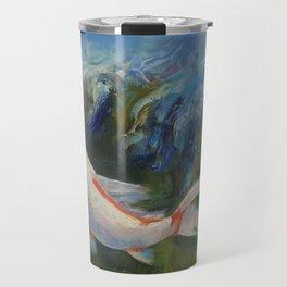 Zen Koi Travel Mug