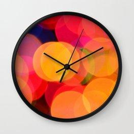 Bokeh Charm Wall Clock