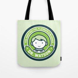 Cute John Watson - Green Tote Bag