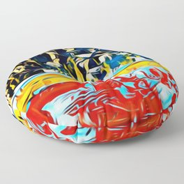 Mountain of Many Faces Floor Pillow