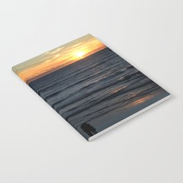 Sunset at Pismo Notebook
