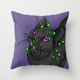 Starry-Eyed Galileo Throw Pillow