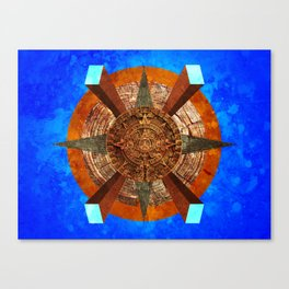 Silly Mayans Canvas Print