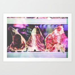 Limousin Art Print