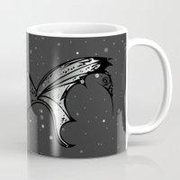 lantern Mugs featuring Lantern Fish by GoAti
