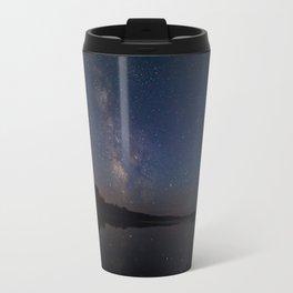 Milky Way over the Lake Travel Mug