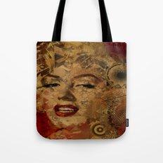 Monroe Pop Abstract  Tote Bag