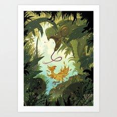 Zolom Art Print