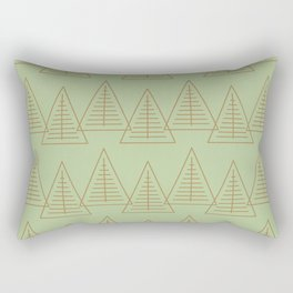Winter Hoidays Pattern #10 Rectangular Pillow