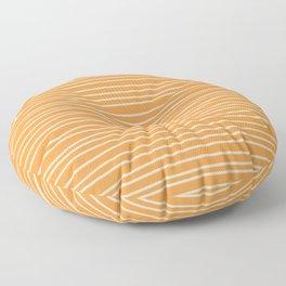Sherbet Pinstripes Floor Pillow