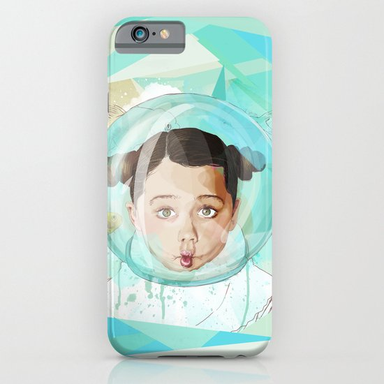Fish Girl iPhone & iPod Case