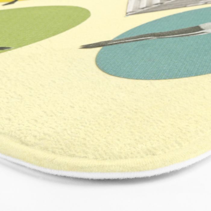 High Flyers Bath Mat