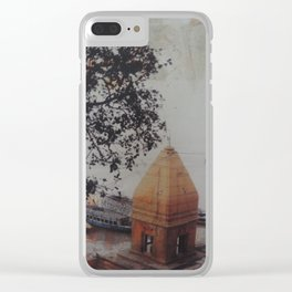 Temple by the Ganges Clear iPhone Case