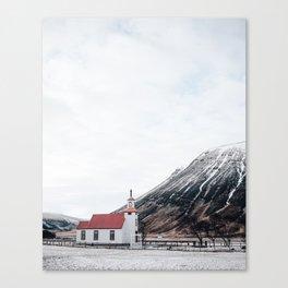 Icelandic Church Canvas Print
