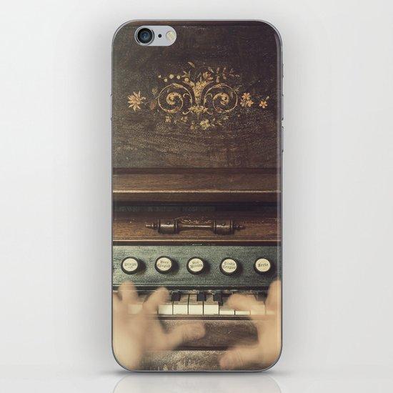 Frantic at the Keys iPhone & iPod Skin