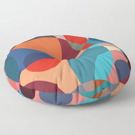 Crowded place Floor Pillow