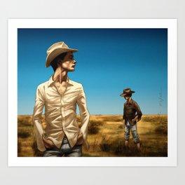 Dayvan Cowboy Art Print