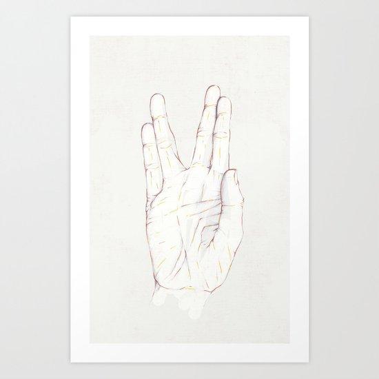 Live Long Art Print