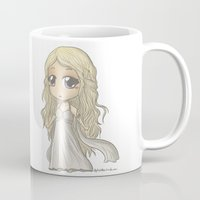 mother of dragons Mugs featuring Mother of Dragons by ScottyTheCat