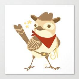 Wild Sparrow Canvas Print