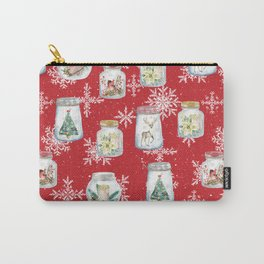 Christmas Jars Carry-All Pouch