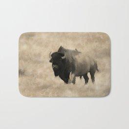 American Buffalo  -  Plains Bison Bath Mat