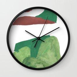 14    | Mountain Watercolour Painting  | 190402 Wall Clock