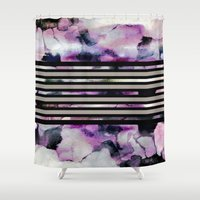 blossom Shower Curtains featuring Blossom // by Georgiana Paraschiv