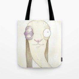Rabbit Fight Tote Bag
