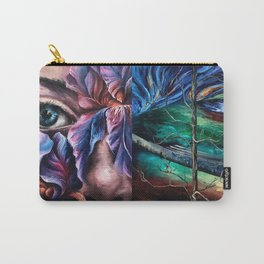 Painting Collage Carry-All Pouch