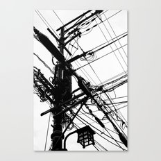 Telephone Poll 2 Canvas Print